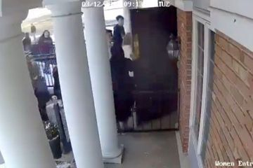 Video shows 17-year-old hold open mosque doors as students run from school stabbing