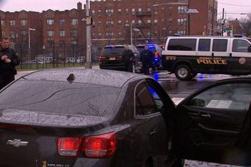 Massive gun battle erupts in New Jersey, officer shot