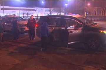 Children fight off carjacker who tried to steal family car