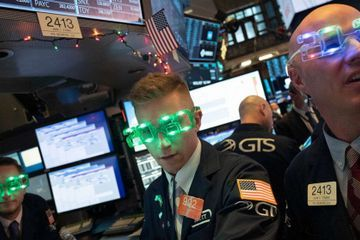 2 stocks accounted for 15% of market gains in 2019