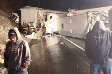 At least 5 dead, 60 injured in massive highway pileup