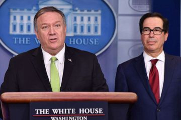 Pompeo, Mnuchin detail new sanctions on top Iranian officials