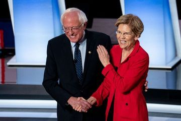 'Start Here': Sanders and Warren tensions simmer ahead of debate