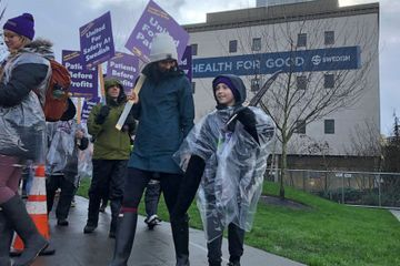 Strike by Seattle nurses, staff closes emergency rooms