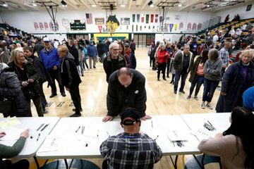 Iowa caucuses live updates: Results expected soon