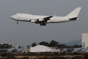 2 jets with Americans escaping virus zone land in California