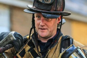 Firefighter suspended over policy after trying to save 95-year-old from burning home