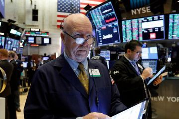 Stocks sink, Treasury prices soar as investors seek safety