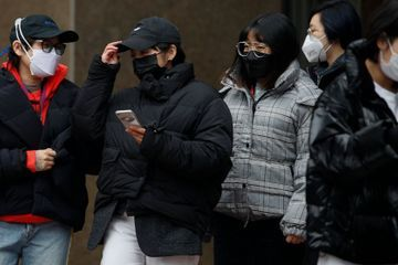 China reports 508 more virus cases, South Korea has 60 more