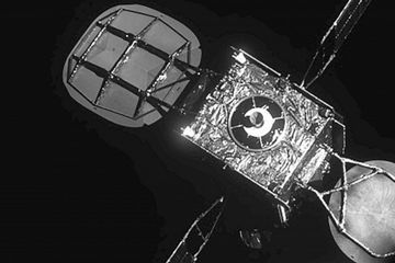 Satellite almost on empty gets new life after space docking
