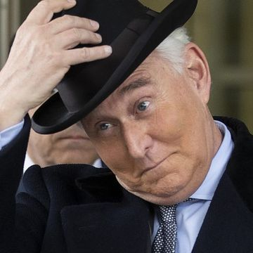 Trump will let process 'play out' after ally Roger Stone gets 40 months in prison