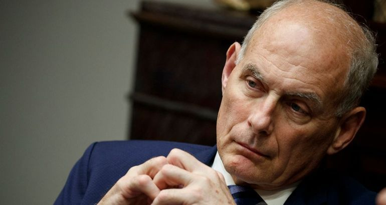 Former White House chief of staff John Kelly levels harshest criticism yet at Trump